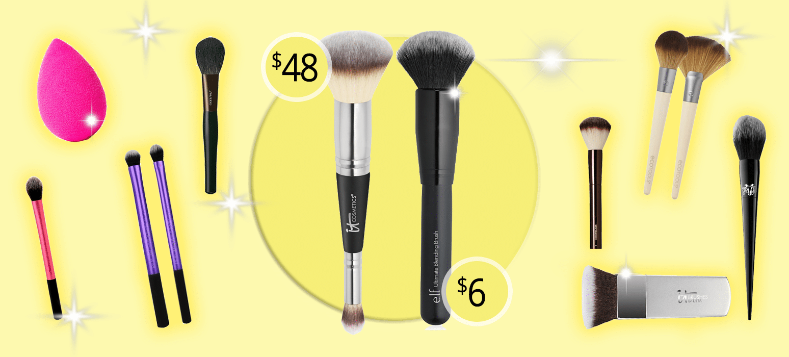 Dupes for Popular Makeup Brushes! Highend vs Drugstore