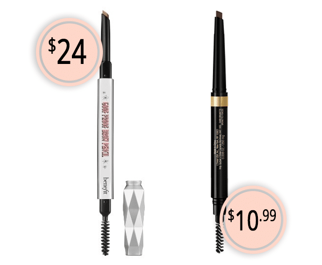 Makeup Dupes Part 3 | Benefit Goof Proof Brow Pencil vs. L'Oreal Brow Stylist Shape & Fill Pencil