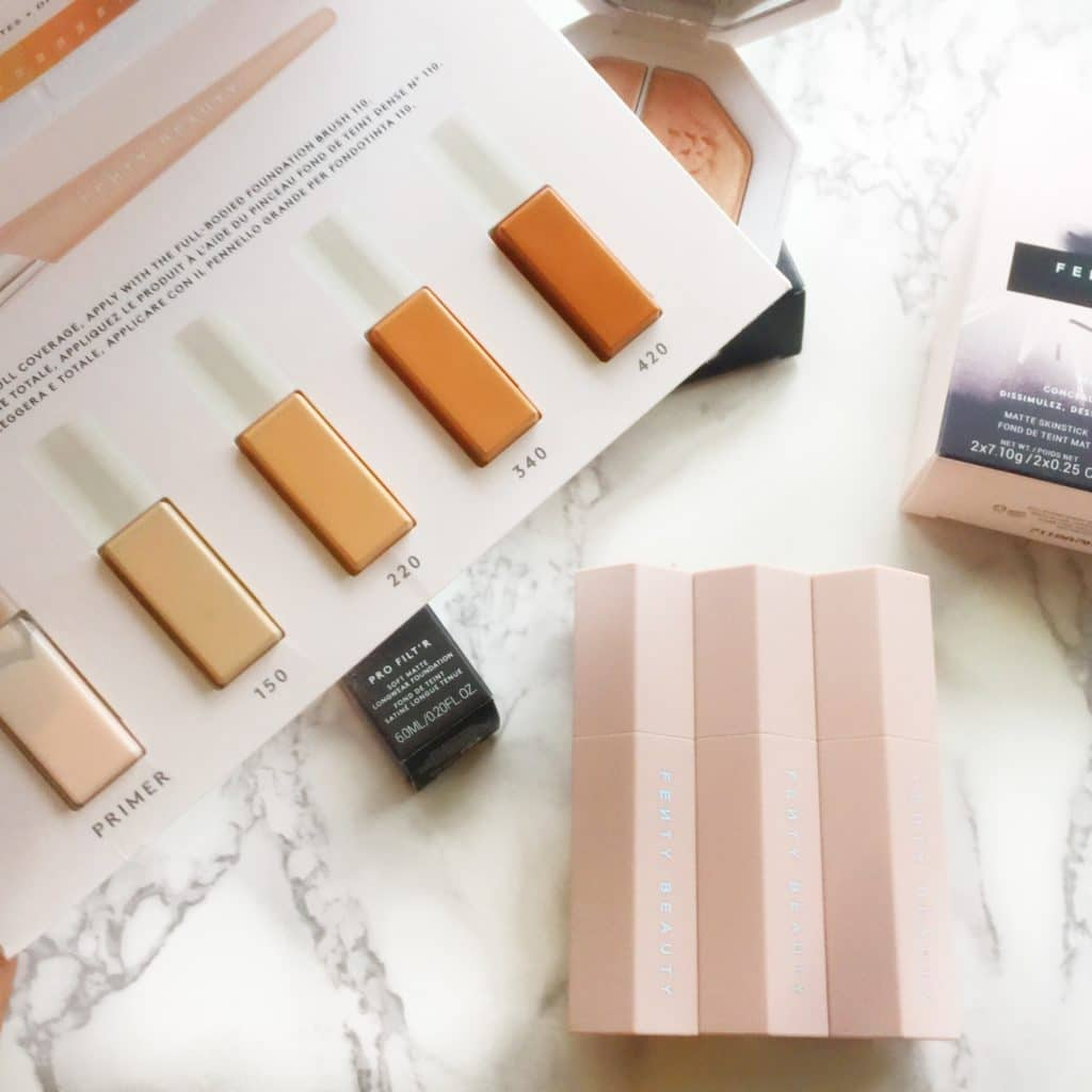 Fenty Beauty Haul with First Impressions! Foundation Sampler from Sephora