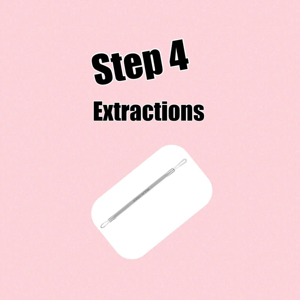 My Extensive at Home Facial Routine! Step 4: Extractions!