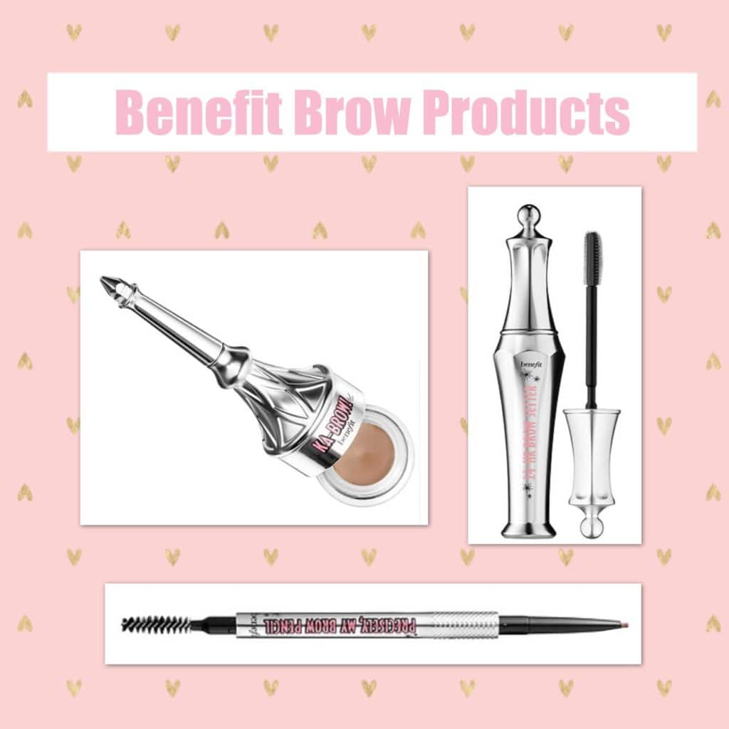 What's in My Travel Makeup Bag?! Benefit Cosmetics Ka-brow, Precisely My Brow Pencil, 24 HR Brow Gel