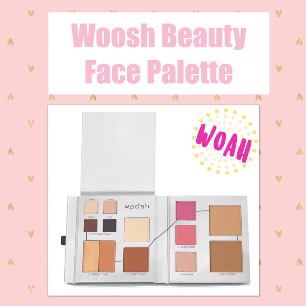 What's in My Travel Makeup Bag?! Woosh Beauty All in One Fold Out Face Palette
