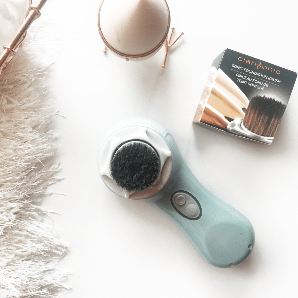 Cream contouring (and Foundation Application) simplified! | Clarisonic Foundation Brush Head